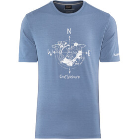 Schöffel Perth1 t-shirt Heren, blue horizon